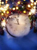 Fotografie Kunst, Heiligabend und Silvester um Mitternacht