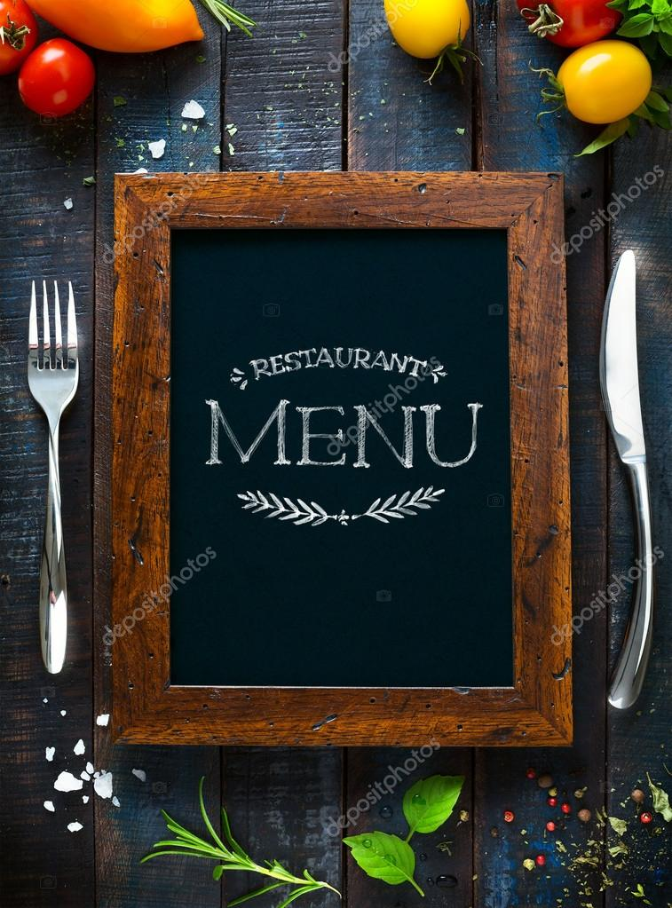 Brochura de restaurante caf menu modelo de design de for Stock cuisine saint priest