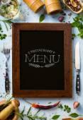 Umění italské domácí vaření pozadí; Restaurace týden