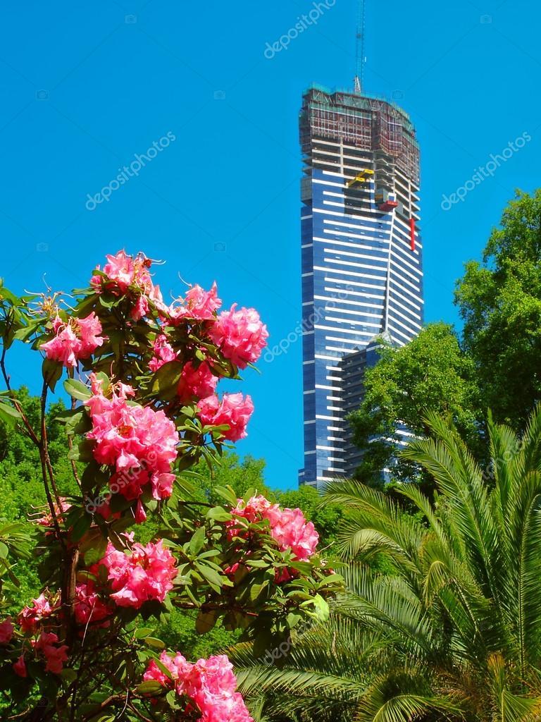 Eureka Tower under Construction