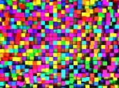 colorful cubes illustration