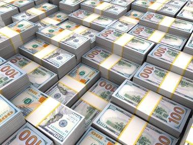 Dollars new banknotes