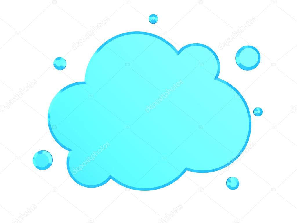 Clean cloud symbol stock photo mmaxer 123165250 3d illustration of clean cloud symbol over white background photo by mmaxer biocorpaavc Gallery