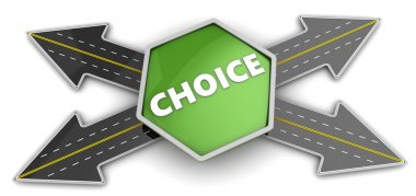 Way choice concept