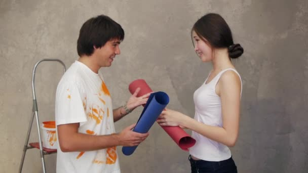Couple have fight then reconcilement