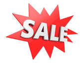 Photo Red sale badge
