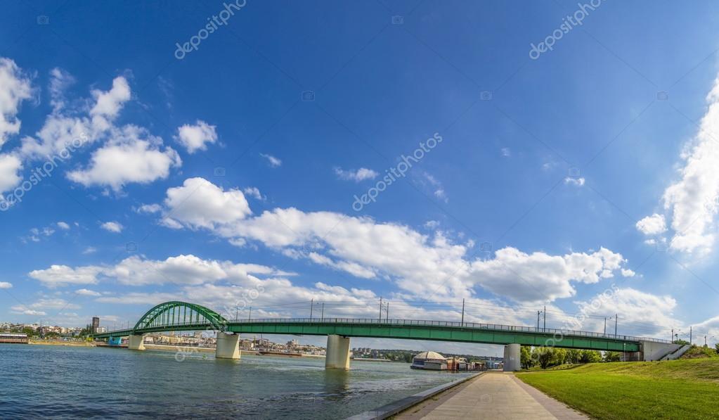 river Sava in Belgrade