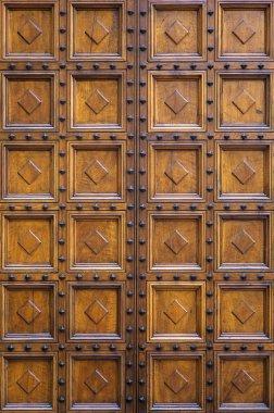 Old wooden door pattern