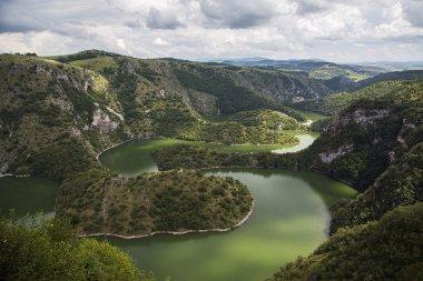 Uvac river in Serbia