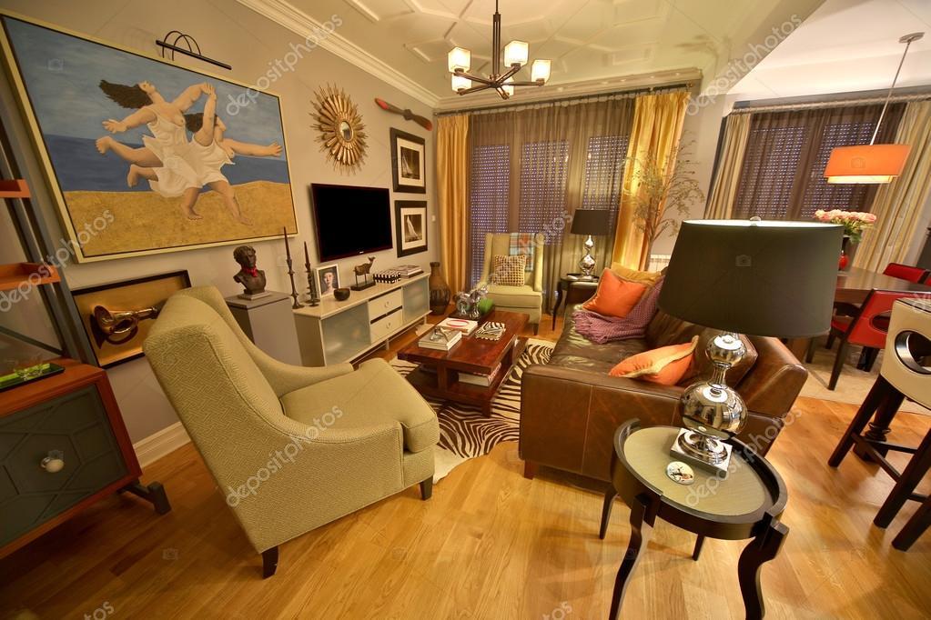 Interni appartamento di lusso foto editoriale stock for Interni appartamenti di lusso