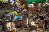 hromada odpadků