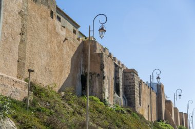 Old city walls in Rabat, Morocco