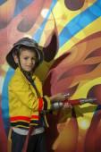 Fotografie Malý hasič