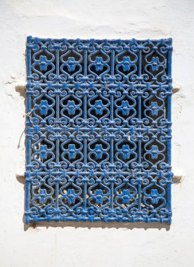 Traditional window from Rabat