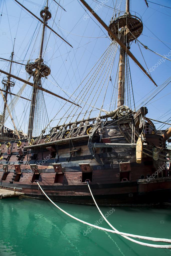 Il Galeone Neptune pirate ship