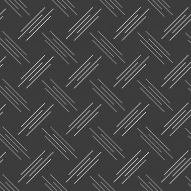 Monochrome pattern with white and gray diagonal uneven stripes