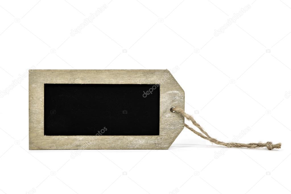 leere Tafel mit einem rustikalen Holzrahmen — Stockfoto © nito103 ...