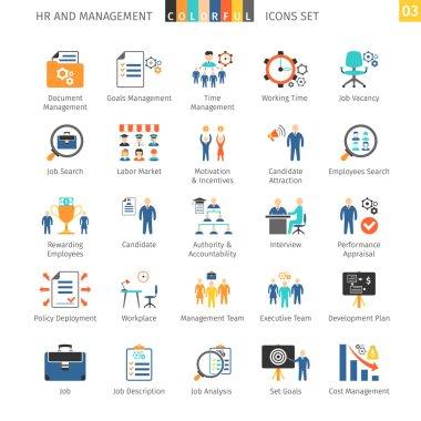 Human Resources Flat Set 03