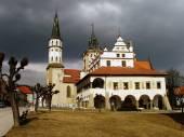 Fotografie středověké městské radnice