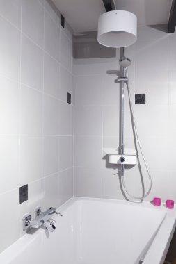 View of elegant modern bathroom