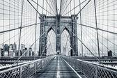 Fotografie Černá a bílá Brooklynský most