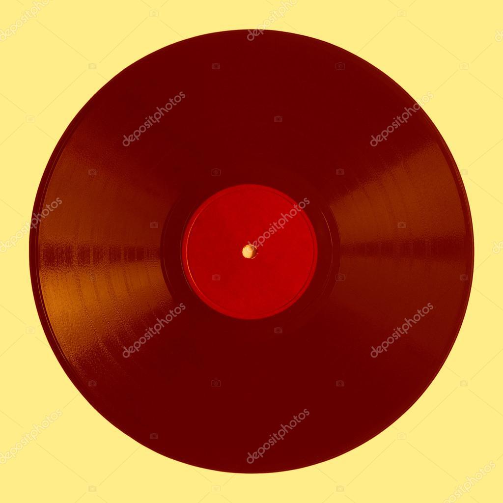 Detail Van Vintage 78 Toeren Muziek Record