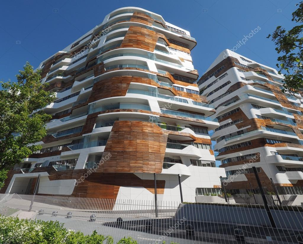 Citylife milano residential complex by zaha hadid in milan for Quartiere city life