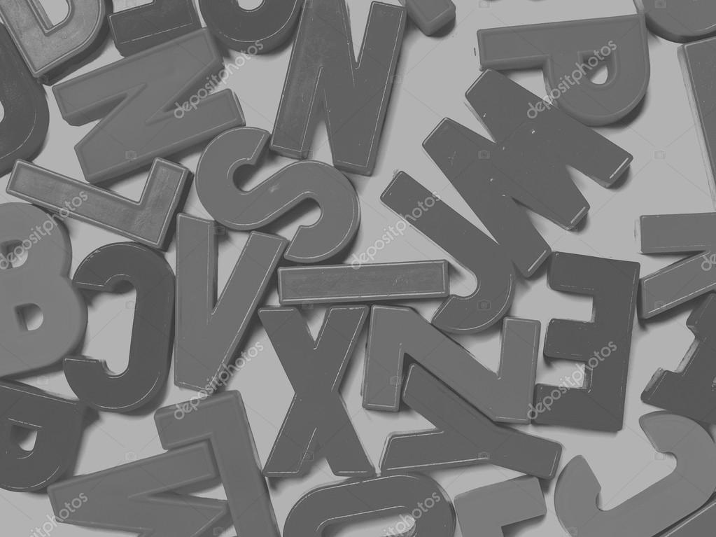 Lettres De L Alphabet Anglais Photographie Claudiodivizia C 107543738