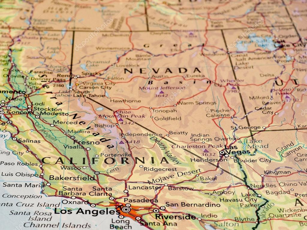 Mapa De Los Angeles Con Nombres.Mapa De Los Angeles California Con Nombres Mapa Del Estado