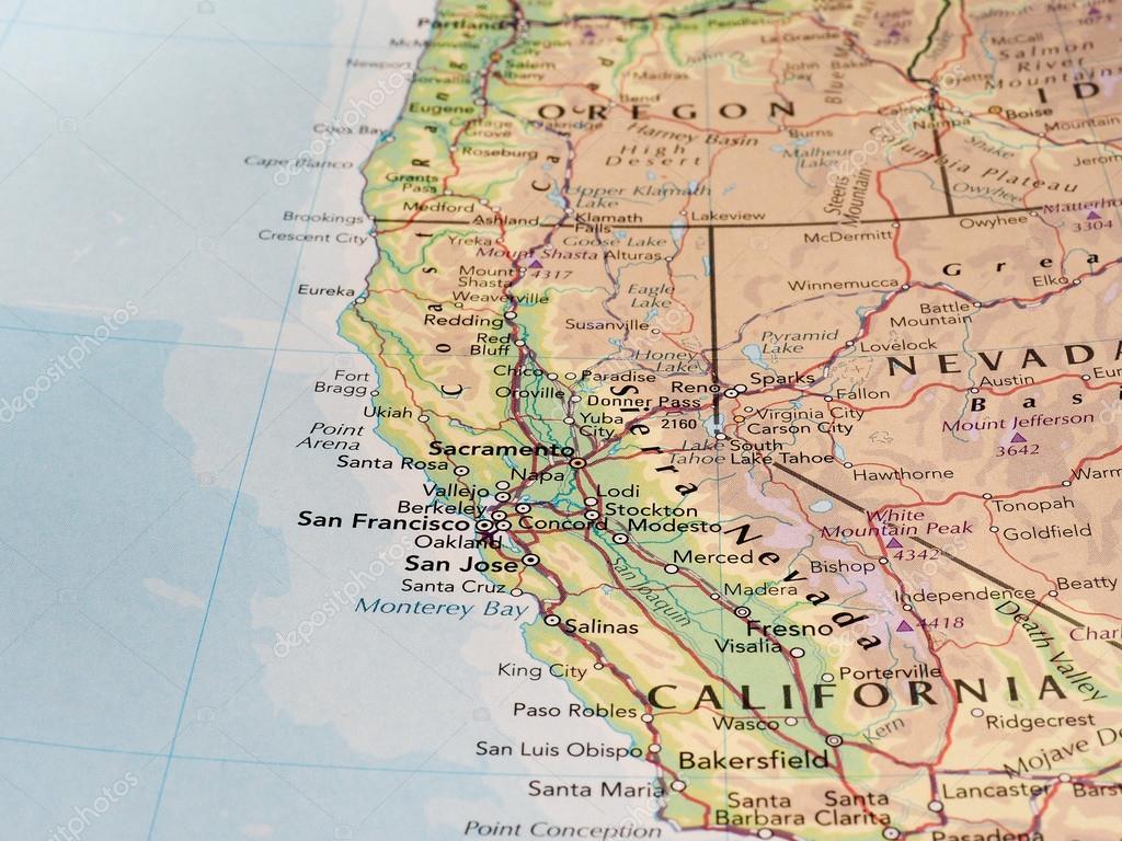 san francisco karta San Francisco karta detalj med selektiv inriktning – Redaktionell  san francisco karta