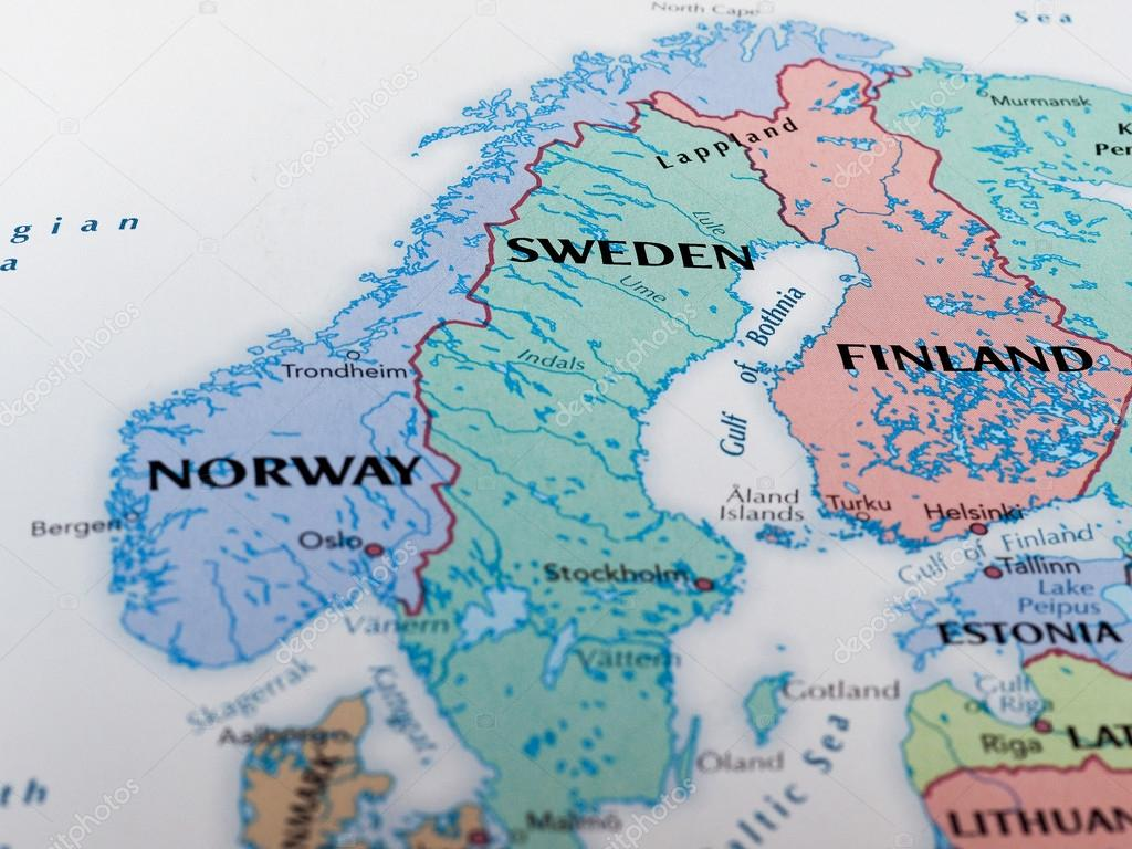 Map of sweden stock editorial photo claudiodivizia 110356998 map of sweden stock photo gumiabroncs Choice Image