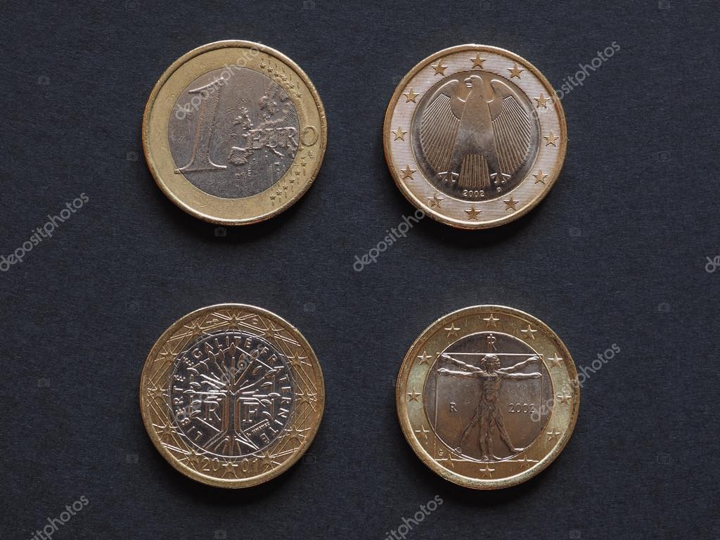 Euro Münzen Vieler Länder Stockfoto Claudiodivizia 110873726