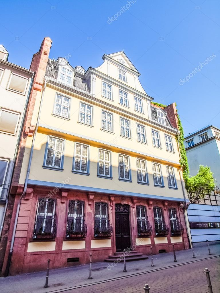 Goethe Haus Frankfurt Hdr Stock Photo C Claudiodivizia 118225944