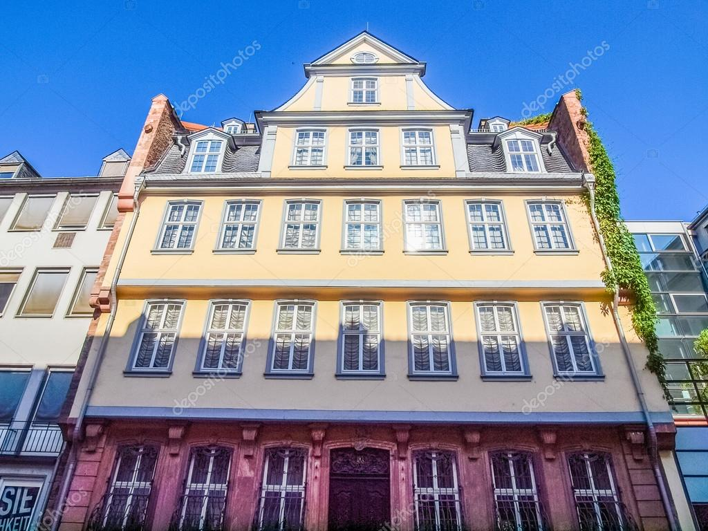 Goethe Haus Frankfurt Hdr Stock Photo C Claudiodivizia 119318530
