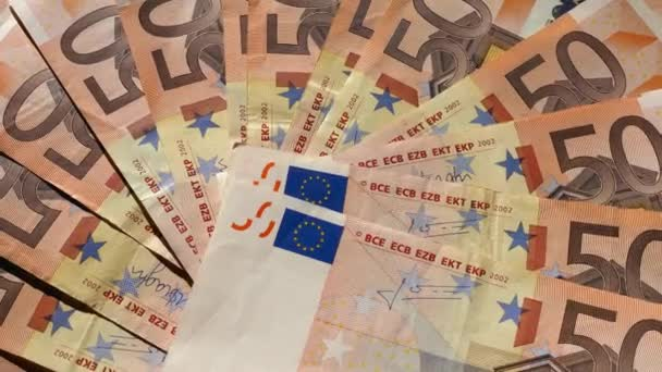 50 Euro bankovky peníze (EUR), měna Evropské unie