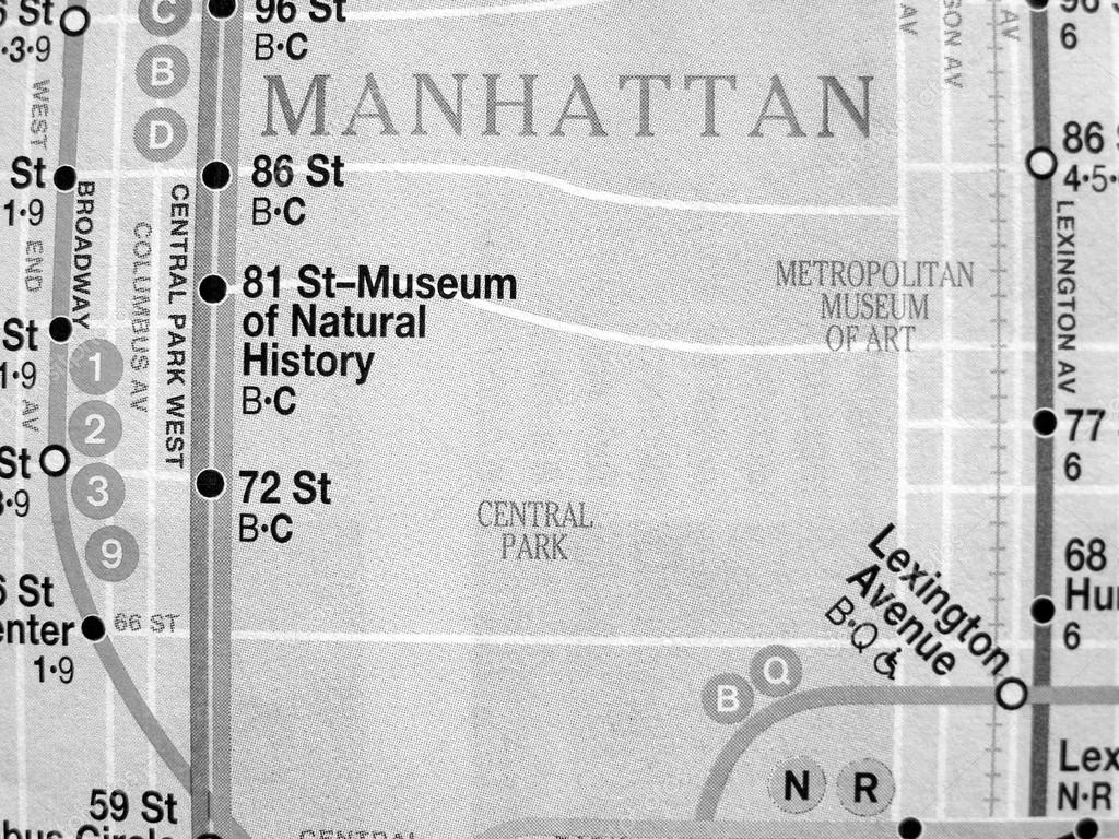 Black And White Subway Map.Black And White New York Subway Map Stock Editorial Photo