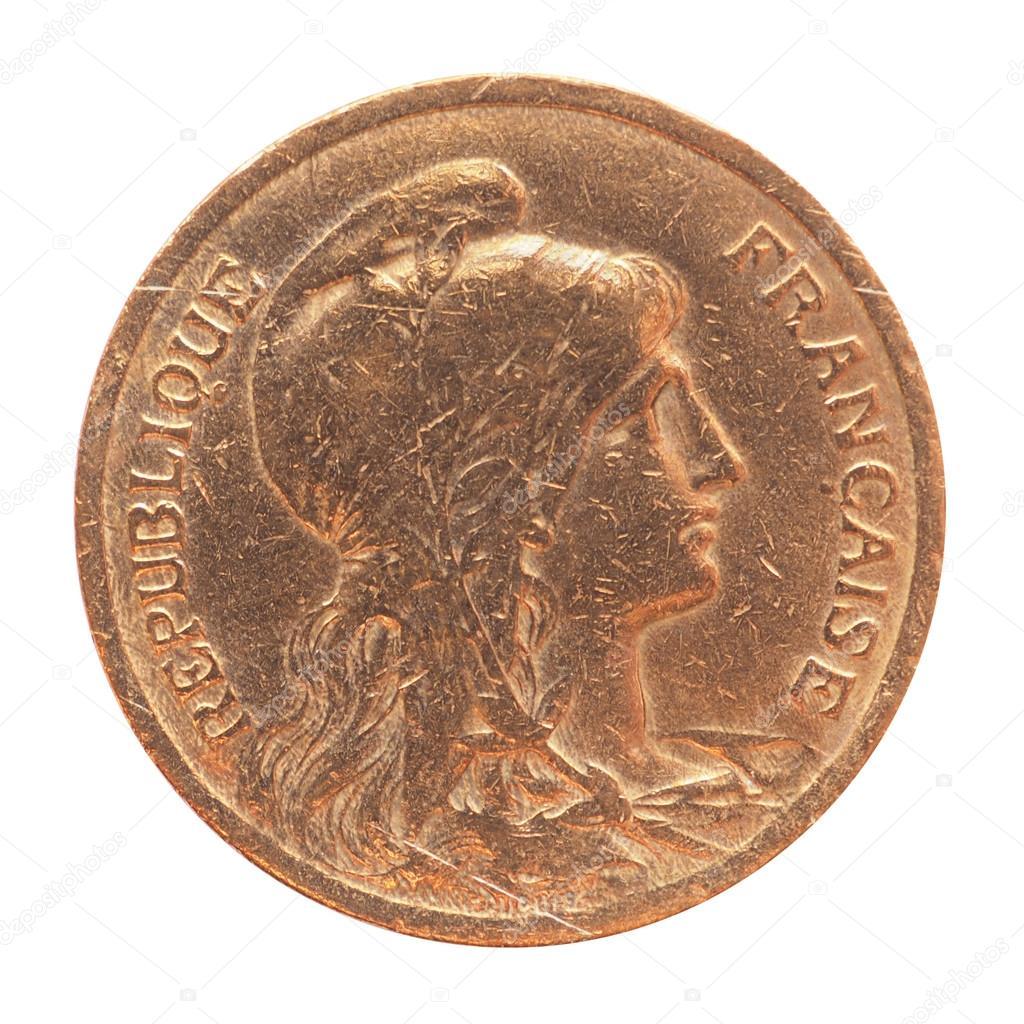 Alte Französische Münze Stockfoto Claudiodivizia 58619415
