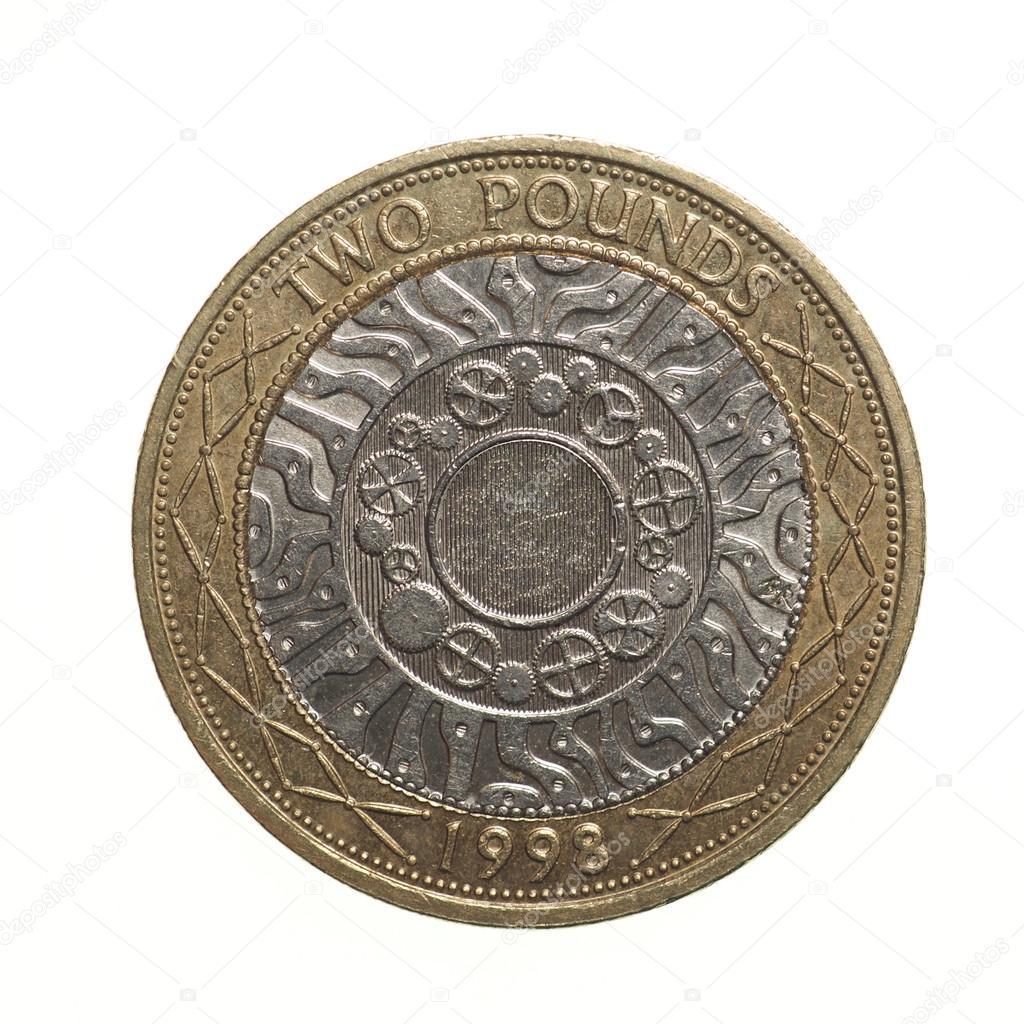 Münze 2 Pfund Pfund Stockfoto Claudiodivizia 69327069