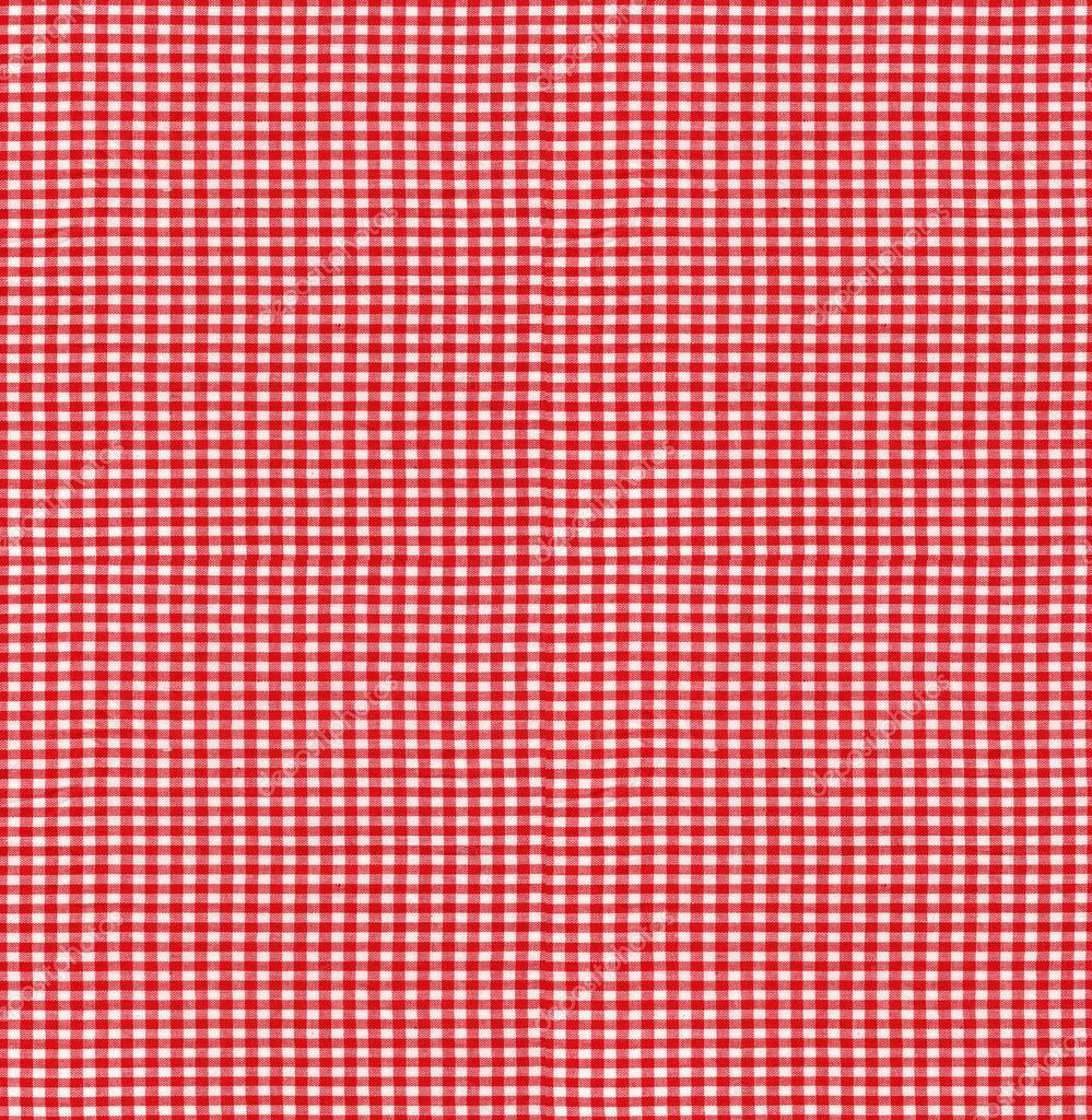 원활한 tileable 텍스처-빨간 체크 무늬 식탁보 원단 — 스톡 사진 ...