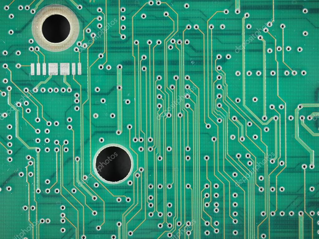Circuito Impreso : Placa de circuito impreso u foto de stock claudiodivizia
