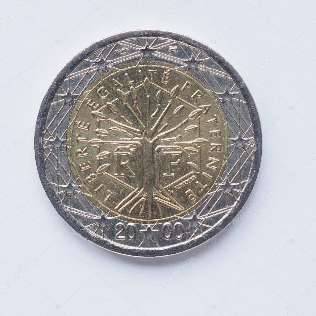 Francese moneta da 2 euro foto stock claudiodivizia - Stock piastrelle 2 euro ...