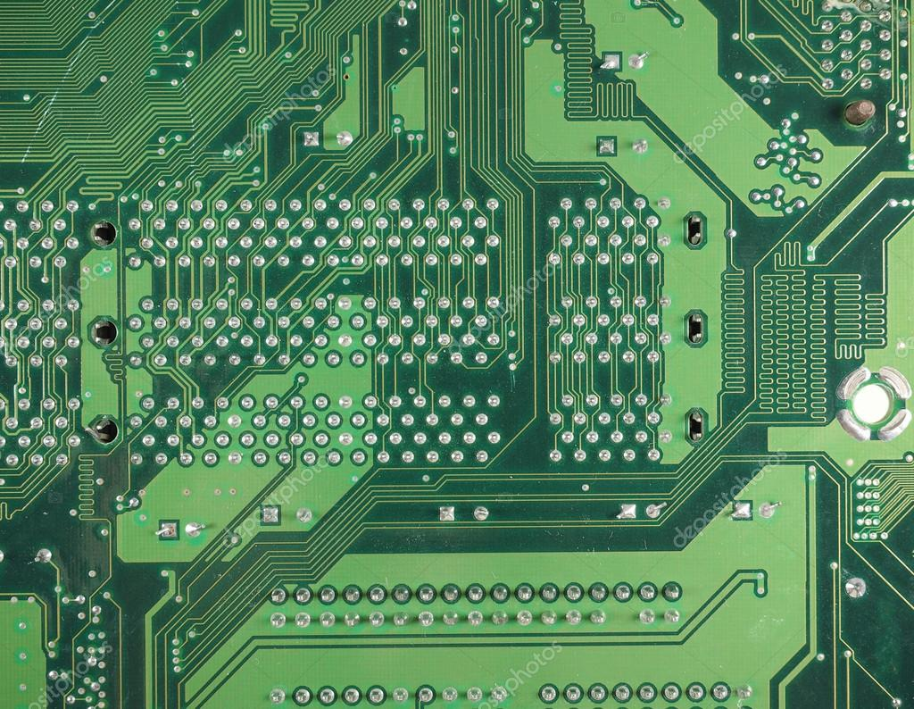 Circuito Impreso : Fondo de placa de circuito impreso u fotos de stock