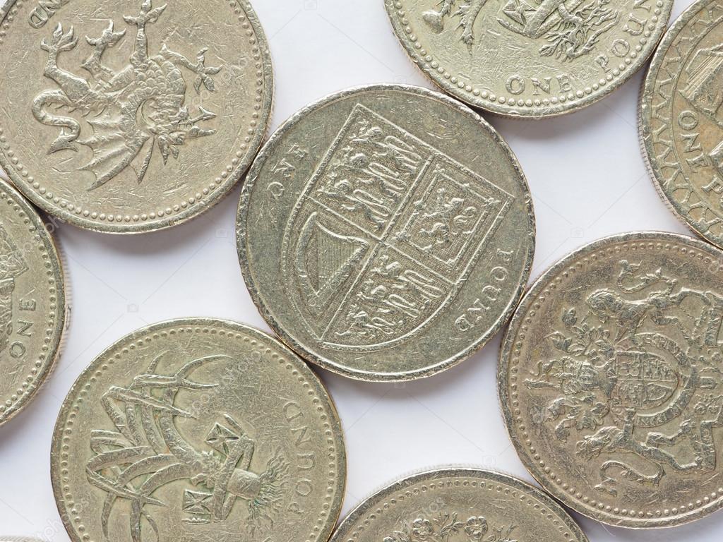 Großbritannien 1 Pfund Münze Stockfoto Claudiodivizia 86479680
