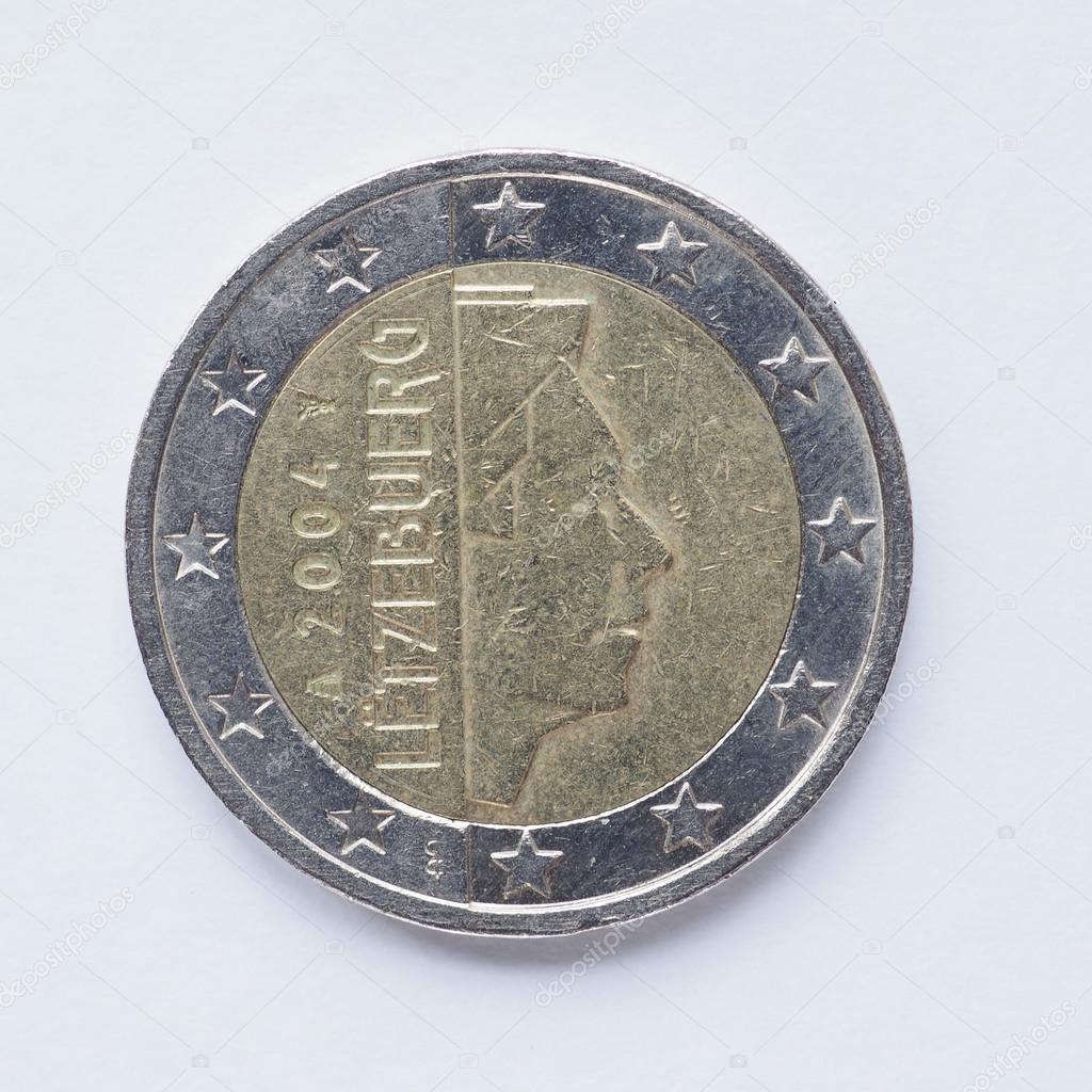 ルクセンブルク 2 ユーロ硬貨 — ...