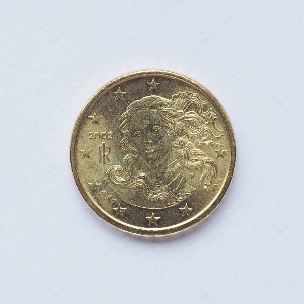 Italienische 10 Cent Münze Stockfoto Claudiodivizia 88928432
