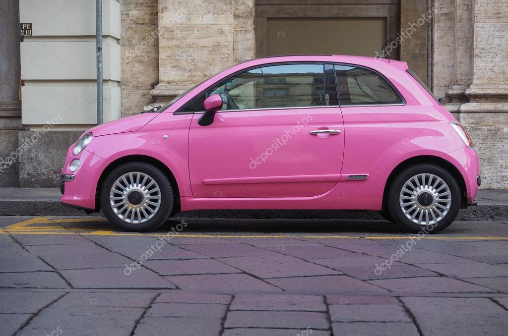 Pink Fiat 500 Car Stock Editorial Photo C Claudiodivizia 93417098