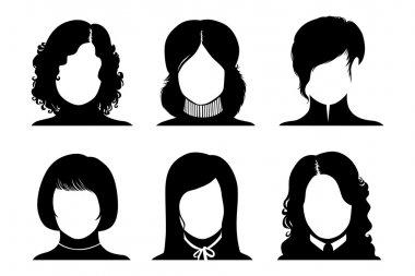 Woman avatar: Faceless