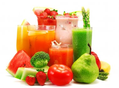 Healthy smoothies collection