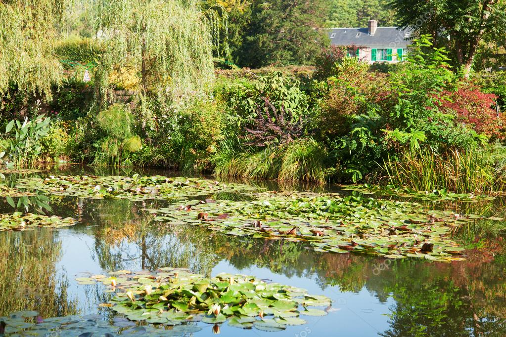 Laghetto delle ninfee di monet a giverny foto stock for Ninfee per laghetto
