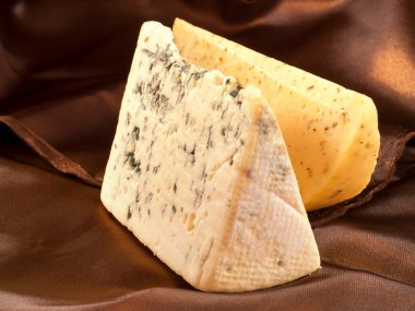 Blue cheese and Gouda